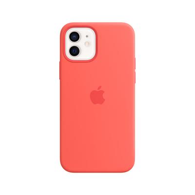 Apple Siliconenhoesje met MagSafe voor iPhone 12 | 12 Pro - Citrusroze Mobile phone case
