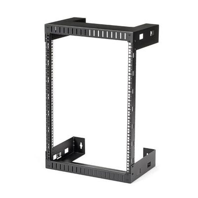 StarTech.com 15U wandmonteerbaar server open frame serverkast 30 cm diep Rack - Zwart