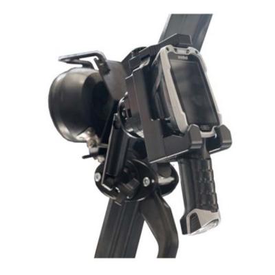 Zebra Un-powered Forklift Mount for TC8000 Barcodelezer accessoire - Zwart