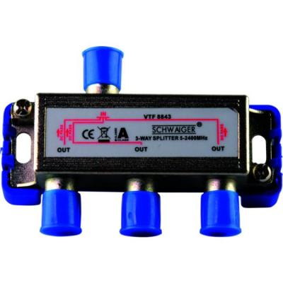 Schwaiger VTF8843241 kabel splitter of combiner