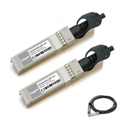 Legrand MSA- en TAA-conforme 10GBase-CU SFP+ tot SFP+ Direct Attach-(Actieve Twinax, 10m) Kabel - Zwart
