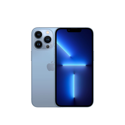 Apple iPhone 13 Pro 128GB Sierra Blue Smartphone - Blauw