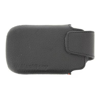 BlackBerry ACC-38960-201 - Torch 9860/9850 Leather Swivel Holster Mobile phone case - Zwart