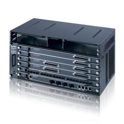 Zyxel netwerkchassis: IES-5106 - Zwart