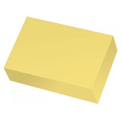 Staples zelfklevend notitiepapier: Notitieblok recycled SPLS 38x51 geel/p12