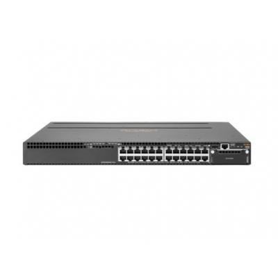 Hewlett Packard Enterprise switch: Aruba 3810M 24G 1-slot Switch - Zwart