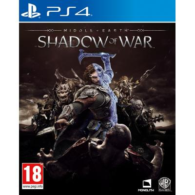 Warner bros game: Middle-Earth: Shadow of War  PS4