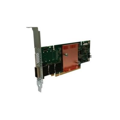 DELL Intel Omni-Path Host Fabric Adapter 100 Series 1 poort PCIe x16 - laag profiel netwerkkaart