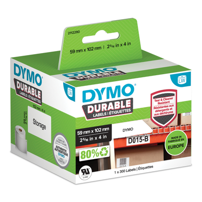 DYMO 2112290 printeretiketten