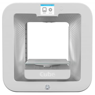 3d systems 3D-printer: Cube 3D Printer Gen3 - Wit