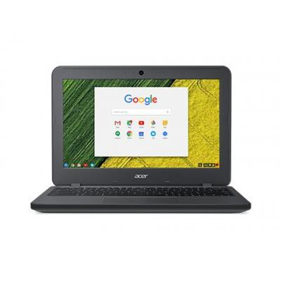 "Acer laptop: Chromebook 11 N7 C731T-C9M4 - 11.6"" Celeron 4GB RAM 32GB Flash - Chrome OS - Grijs, QWERTY"