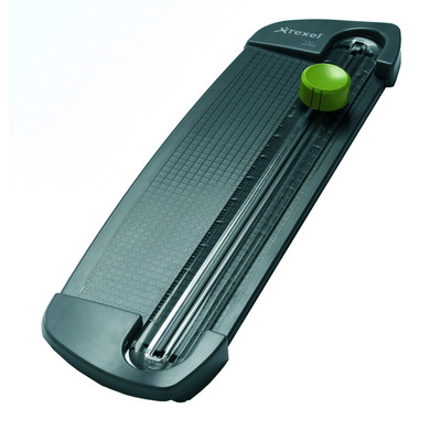 Rexel snijmachine: SmartCut A100 Rolsnijmachine A4 - Groen, Grijs