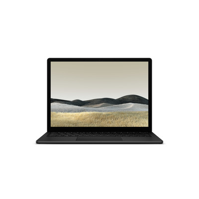 "Microsoft Surface Laptop 3 13.5"" i5 8GB 256GB Black/Aluminium - QWERTY Laptop - Zwart"