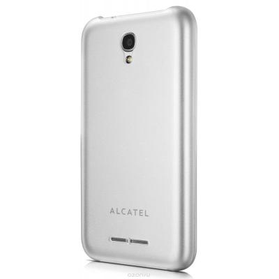 Alcatel mobile phone case: Cover case for One Touch PIXI 3, Transparent - Transparant