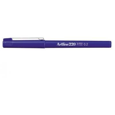 Artline gelpen: 220 - Blauw