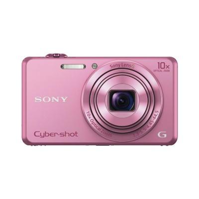 Sony digitale camera: Cyber-shot DSC-WX220 Pocket Videocamera - Roze