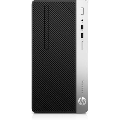 HP ProDesk 400 G5 Pc - Zwart, Zilver