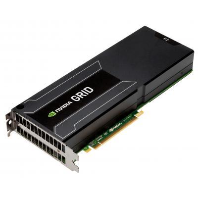 "Cisco videokaart: NVIDIA GRID K2, 2xNVIDIA Kepler GPUs, 8GB GDDR5, 10.12.7 cm (5"") PCI Express Gen3, 225W"
