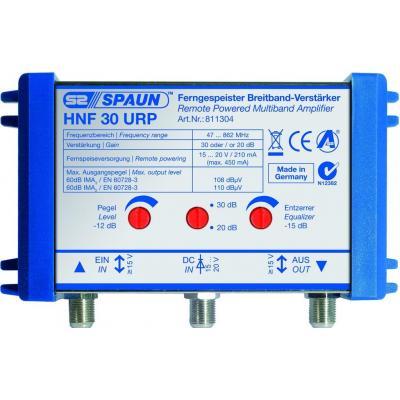 Spaun signaalversterker TV: HNF 30 URP - Blauw