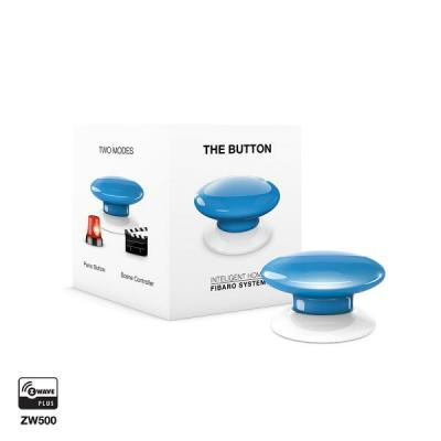 Fibaro : The Button - Blauw, Wit