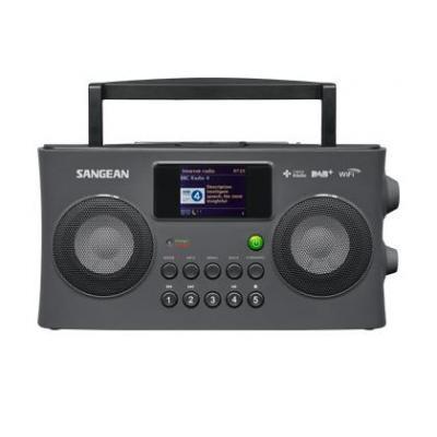 Sangean radio: WFR-29C - Grijs