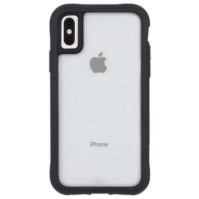 Mobile phone case - Zwart, Transparant