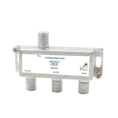 Hirschmann SAT 2-WAY TAP Kabel splitter of combiner - Metallic