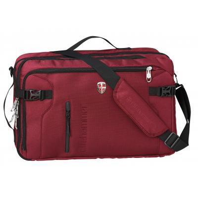 Ellehammer tas: Bergen Business Convertible - Laptoptas - 15.6 inch - Rood