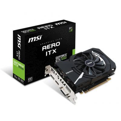 MSI GeForce GTX 1050 Aero ITX 2G OCV1, 2GB GDDR5, 128-bit, 1518/1404 MHz, DisplayPort, HDMI, DL-DVI-D, PCI Express .....