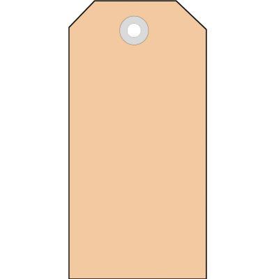 Herma label: Hanglabel 60x120mm 4 lijnen met oogje 1000St. - Bruin