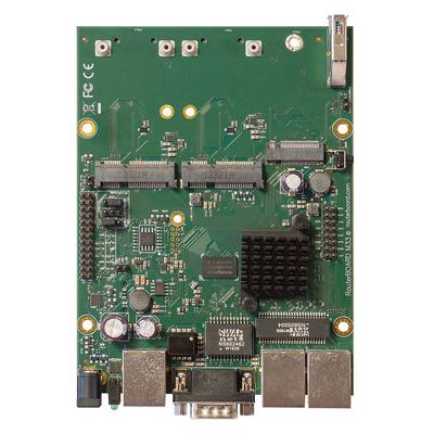 Mikrotik RBM33G Router - Zwart, Groen, Grijs