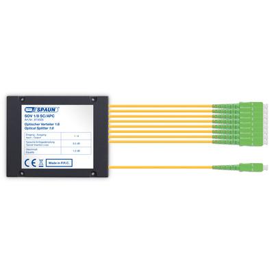 Spaun 815005 Kabel splitter of combiner - Zwart