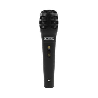 König microfoon: 80 - 12000Hz, 6.35mm, Zwart