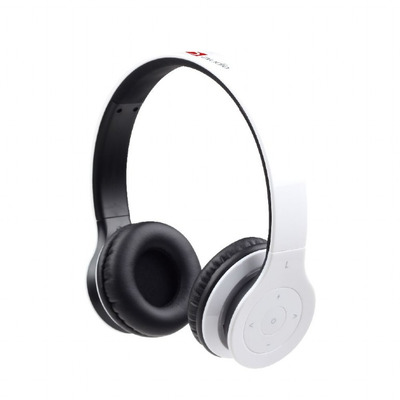 Gembird Bluetooth v.4.1, 40 mm, 20 - 20000 Hz, 32 Ohm, 250 mAh, Li-ion Headset - Wit