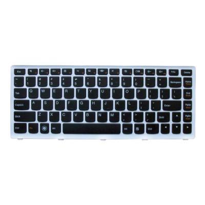 Lenovo notebook reserve-onderdeel: Keyboard for Ideapad S300 - Zwart, Wit