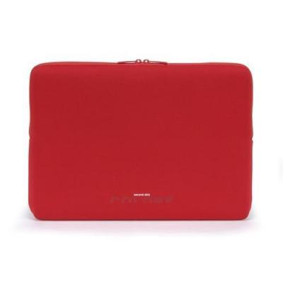 "Tucano 14.1"" Colore Sleeve Laptoptas - Rood"