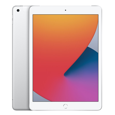 Apple iPad (2020) Wi-Fi + Cellular 128GB 10.2 inch Silver Tablet - Zilver