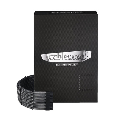 Cablemod C-Series PRO ModMesh Cable Kit for Corsair AXi/HXi/RM - Koolstof