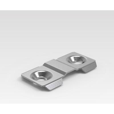 Minkels Set van 6 stuks koppelbeugel frame Rack toebehoren - Metallic
