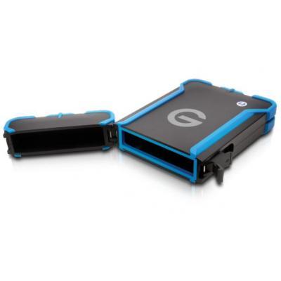 G-technology behuizing: ev All Terrain - Zwart, Blauw