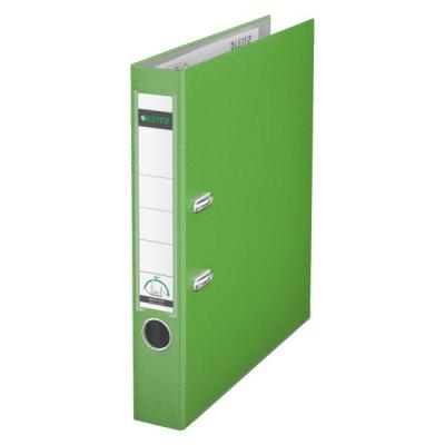Leitz ringband: 180° Lever Arch File Plastic 50 mm - Groen