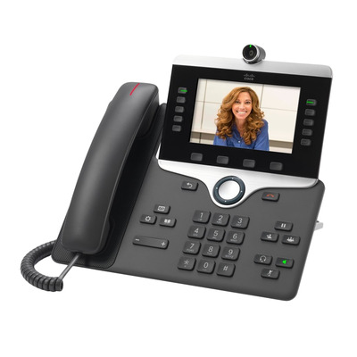 Cisco IP PHONE 8845 IP telefoon - Houtskool