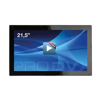 "ProDVX SD-22 22"" Integrated Video Display 21.5"" 1920 x 1080 Paal display - Zwart"