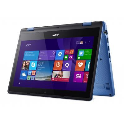 Acer laptop: Aspire R3-131T-C6TA - Zwart, Blauw, QWERTY