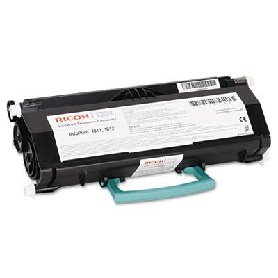 InfoPrint Cartridge for IBM Color 1811/1812/1822, Return program, Black, 9000 Pages Toner - Zwart