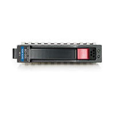 Hewlett Packard Enterprise 500GB 6G SATA SFF Externe harde schijf - Zwart