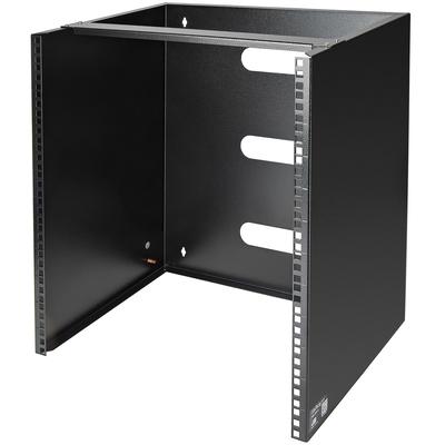 """StarTech.com 12U wand monteerbaar voor 12""""/30 cm diep apparatuur wandkast Rack - Zwart"""