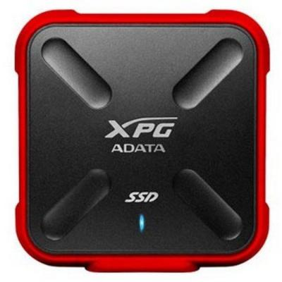 Adata : SD700X 512GB - Zwart, Rood