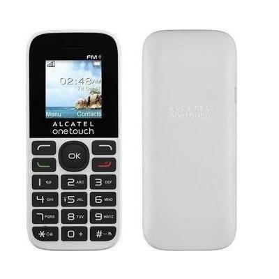 Alcatel mobiele telefoon: 1016D - Zwart