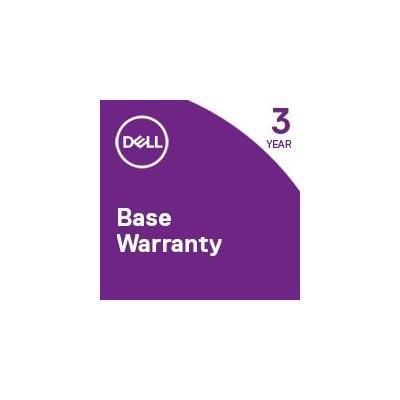 Dell garantie: 2Y CAR - 3Y NBD